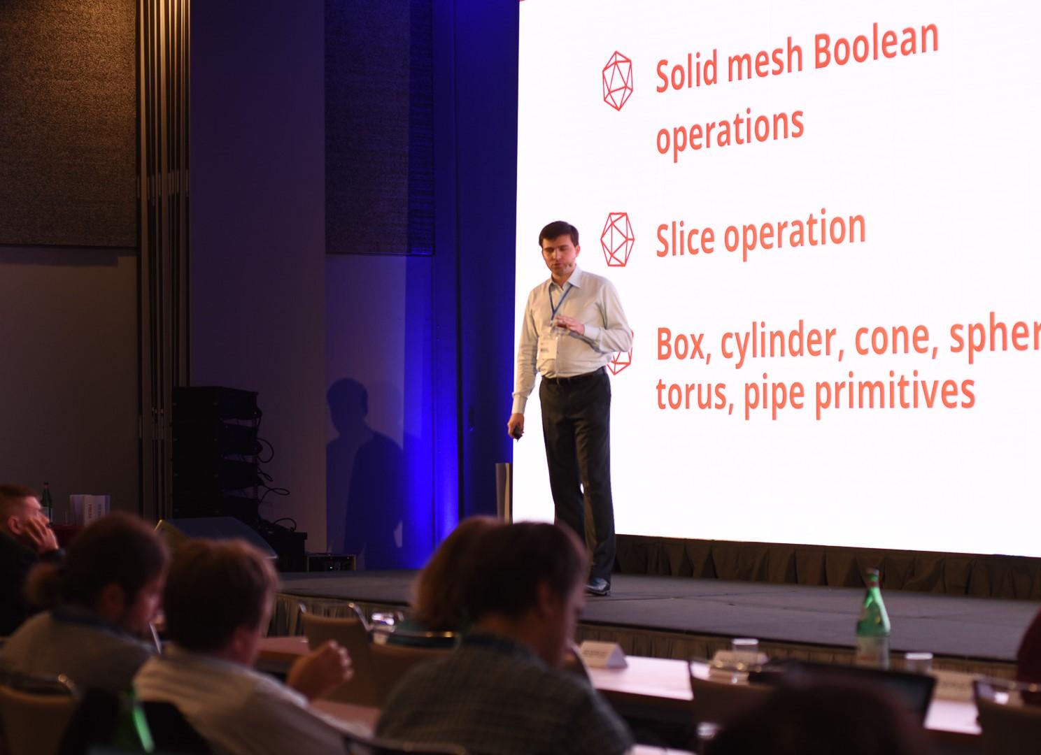 ODA's Alex Rumjantsev presents ODA's new lightweight solid modeler for BIM