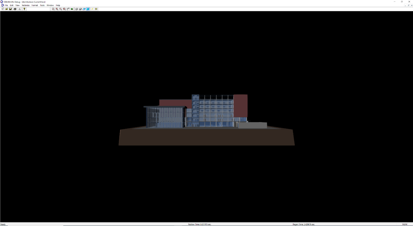 NWC model with the current view point applied
